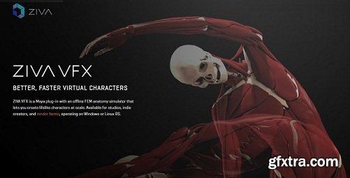 Ziva Dynamics Ziva VFX 1.3 Maya 2014-2018