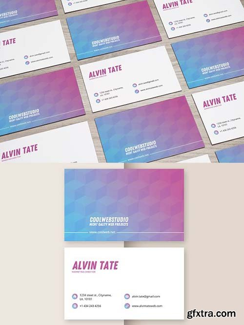 CreativeMarket - Creative Business Card 2534409