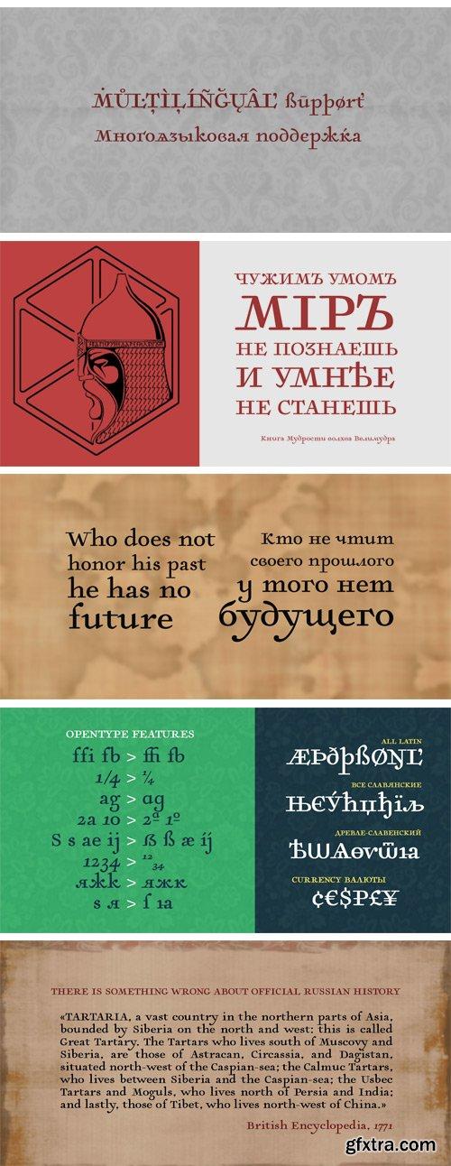 Tartaria Font