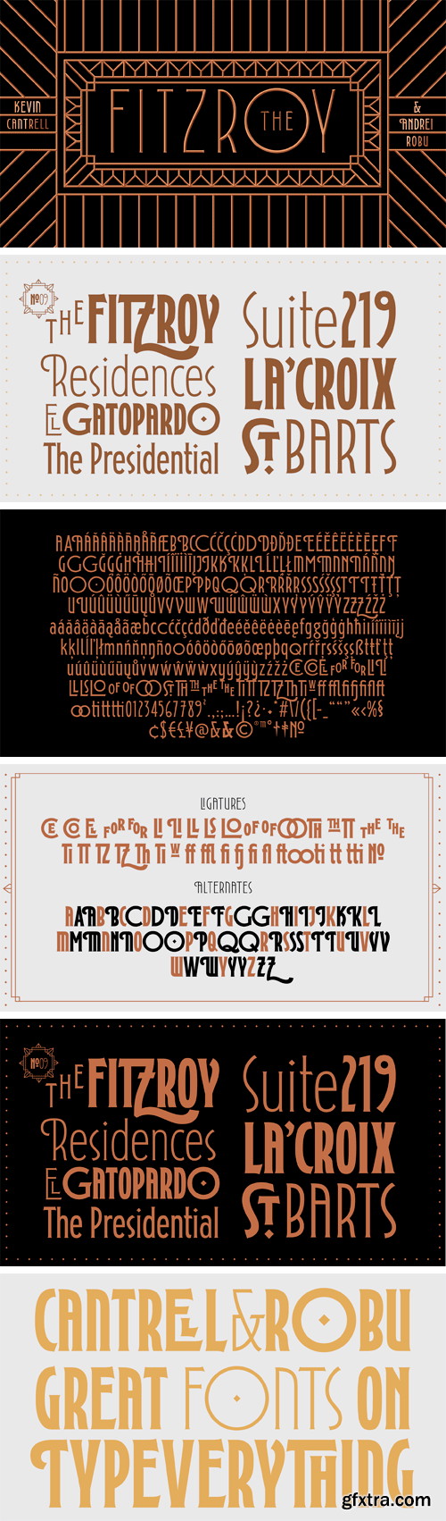 Fitzroy Display Font Family