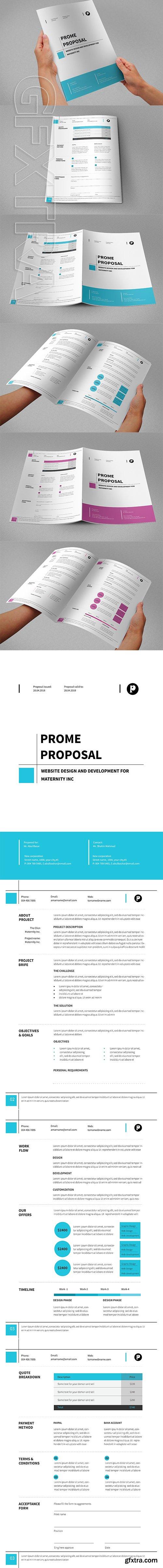 CreativeMarket - Proposal Template 02 2534455