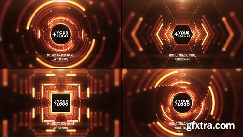 Videohive Audio React Tunnel Music Visualizer 11934574