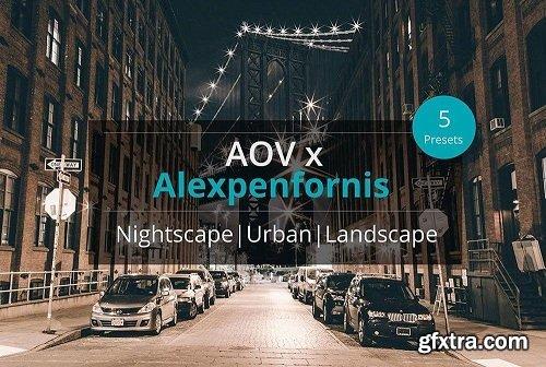 AOV x Alexpenfornis Lightroom Preset Pack