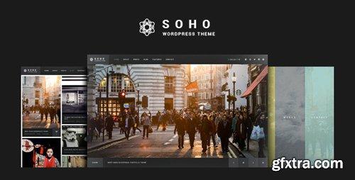 ThemeForest - SOHO v2.6.5 - Fullscreen Photo & Video WordPress Theme - 10020792 - NULLED