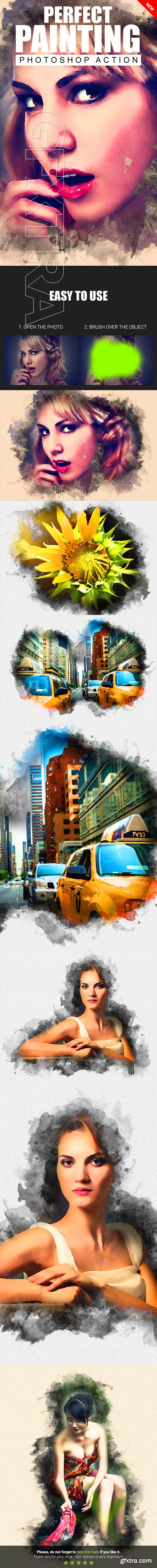 GraphicRiver - Perfect Painting Photoshop Action 21912363