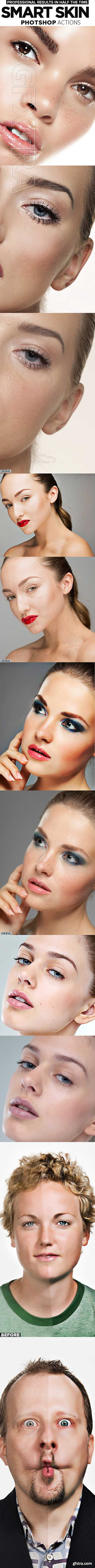GraphicRiver - Skin Retouching Actions 21912734