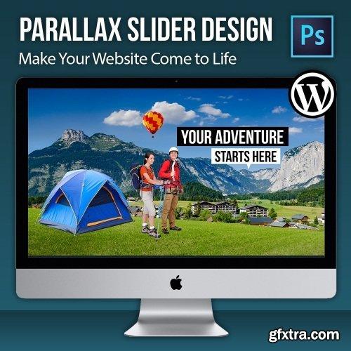Parallax Slider Design - Make Your Website Come to Life