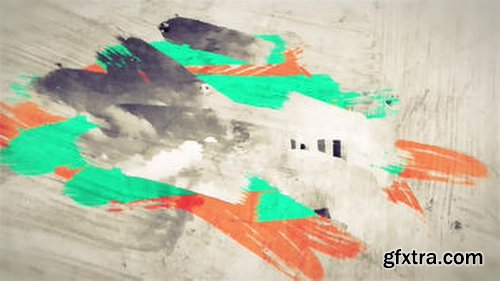 MotionElements Color Brush Strokes Animation SlideShow After Effects Templates 10325051