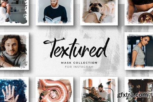 CreativeMarket Textured Instagram Masks Collection 2425670
