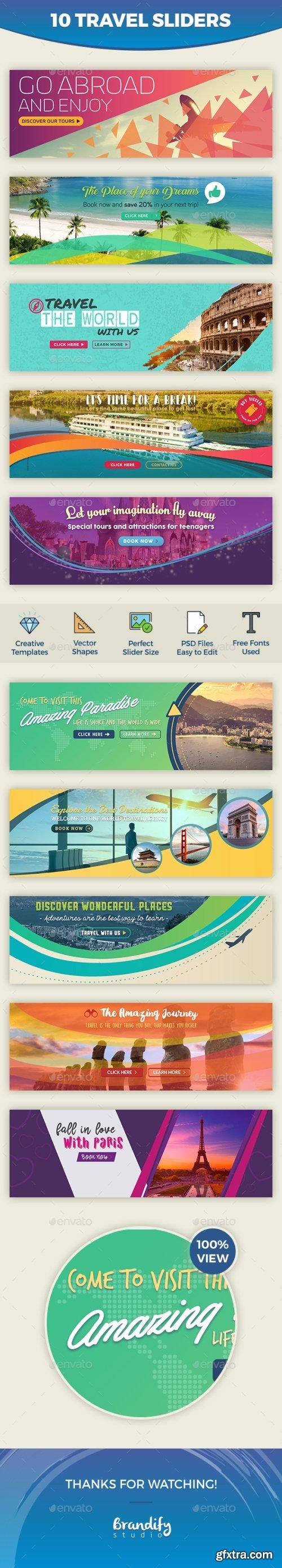 Graphicriver - Travel Slider 16700081