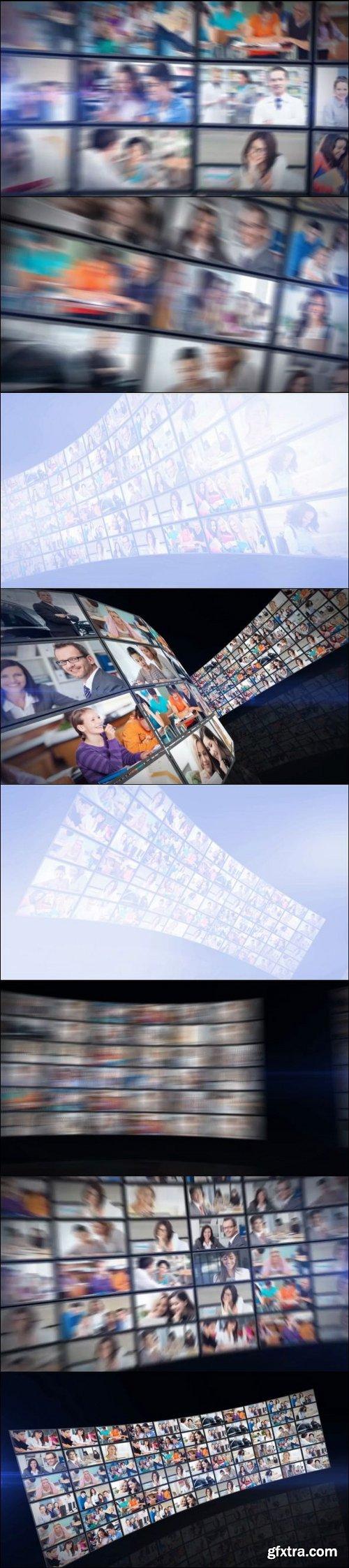 3D Video Wall