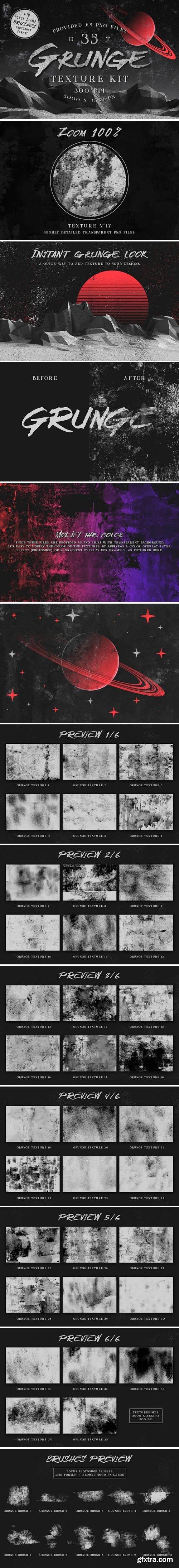 CM - Grunge texture kit 2321502