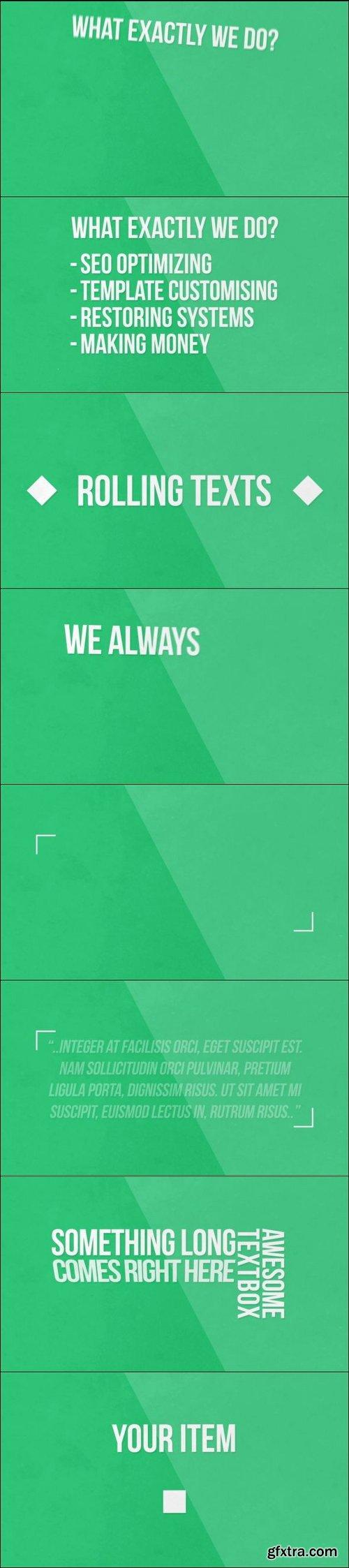 Minimal Typography Pack