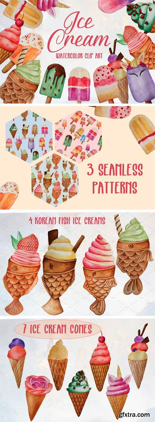 CM - Ice Cream Clip Art Set 2354311