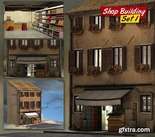 Shop Building Set 1