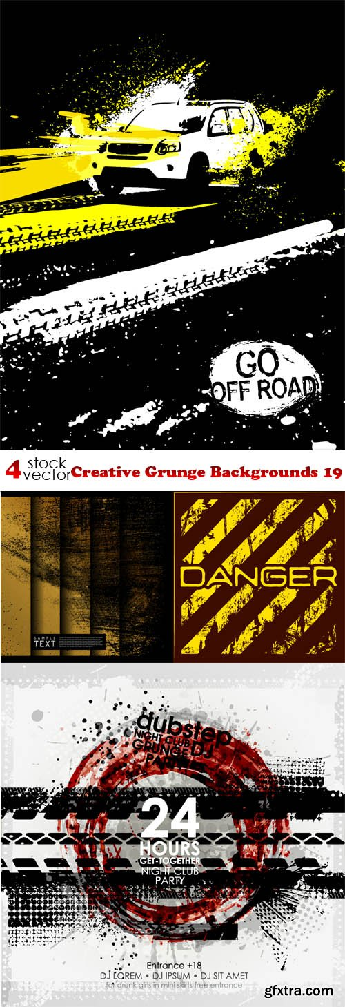 Vectors - Creative Grunge Backgrounds 19
