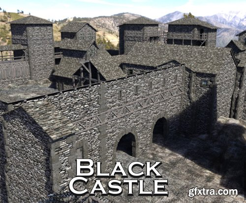 Black Castle for DS Iray