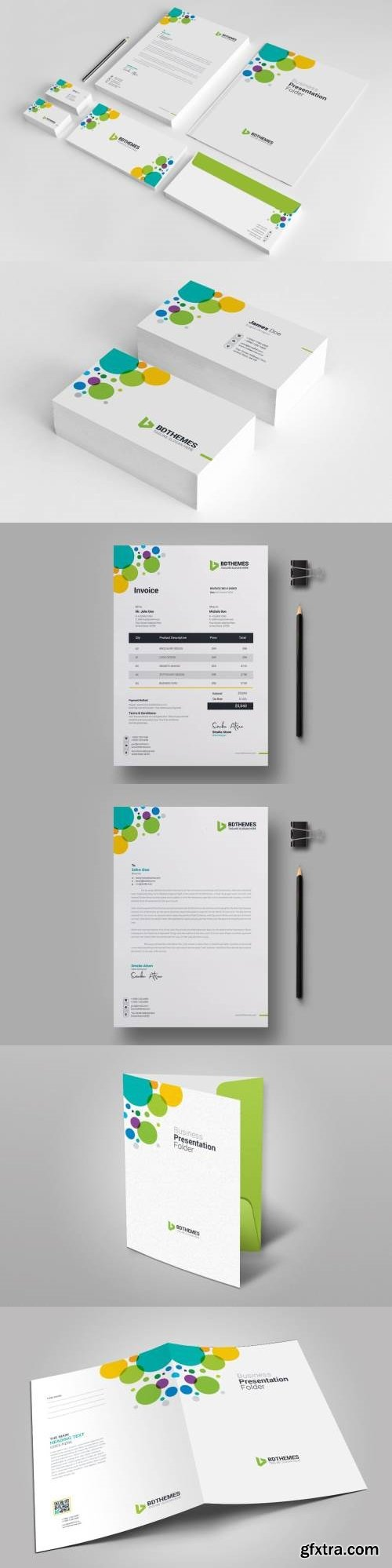 Business stationery template 08 vector photoshop psdafter effects business stationery template 08 cheaphphosting Gallery