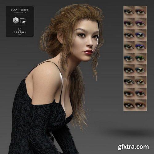Daz3D - Desiree HD for Genesis 3 and 8 Female