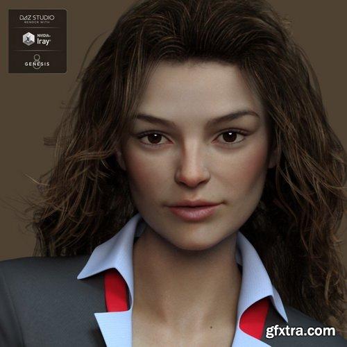 Daz3D - Gail for Genesis 8 Female