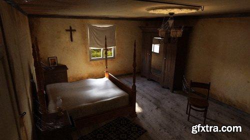 Daz3D - Abandoned Room