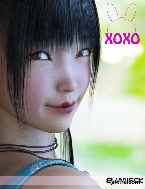 Daz3D - Xoxo for Genesis 8 Female