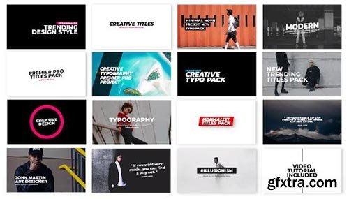 Super Modern Titles - Premiere Pro Templates 82585