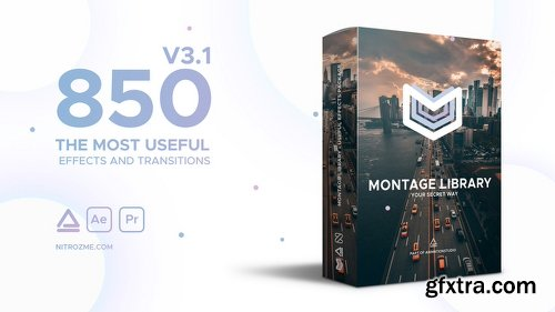 Videohive Montage Library - Most Useful Effects V3.1 21492033 (With Working Crack)