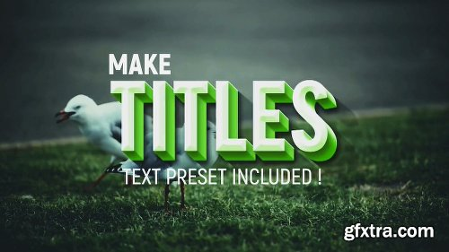 Videohive Titles & Lower Thirds 21324355