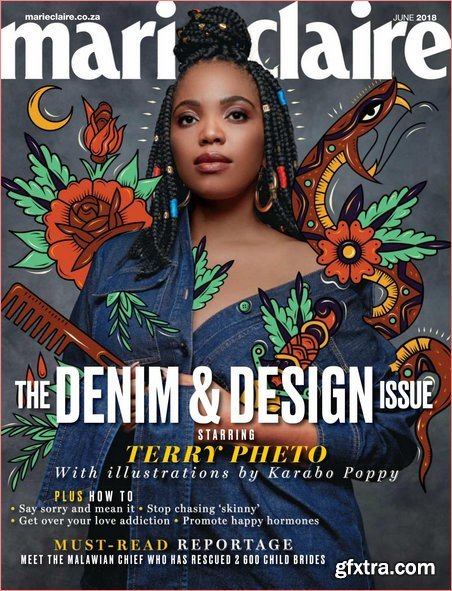 Marie Claire South Africa – June 2018