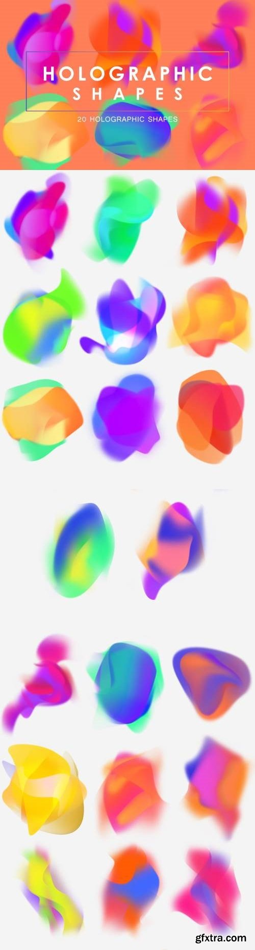 20 Holographic Shapes