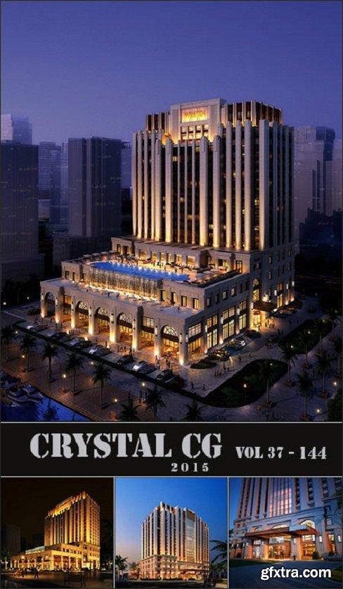 Exterior Building 3D Scene CRYSTAL CG 37-144