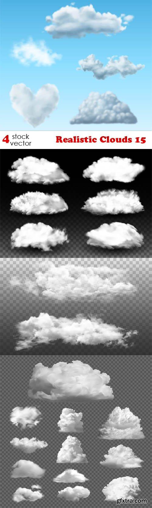 Vectors - Realistic Clouds 15
