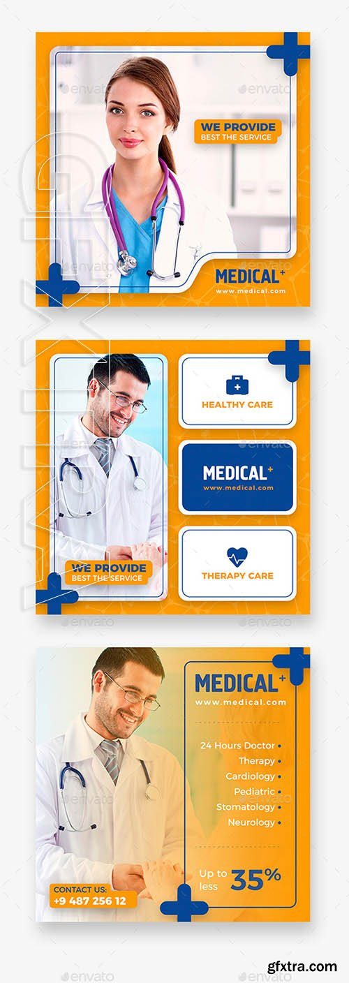 GraphicRiver - Medical Instagram Banner 21952982