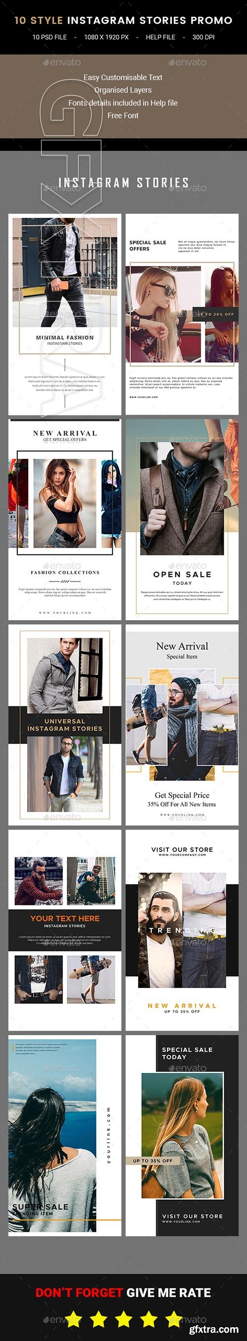 GraphicRiver - Instagram Stories 21956014