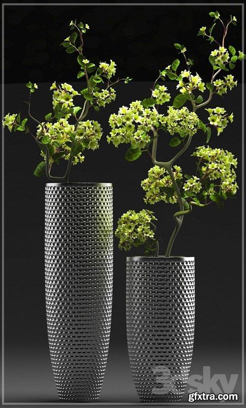 FLOWER SET 3 3d Model