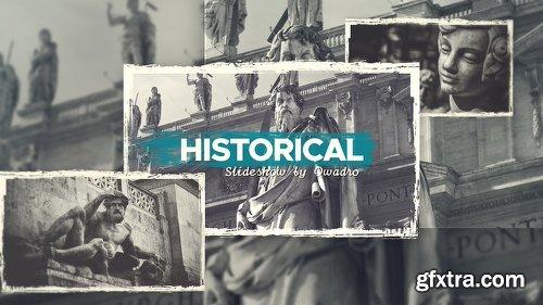Videohive Historical Vintage Documentary Slideshow 21783704
