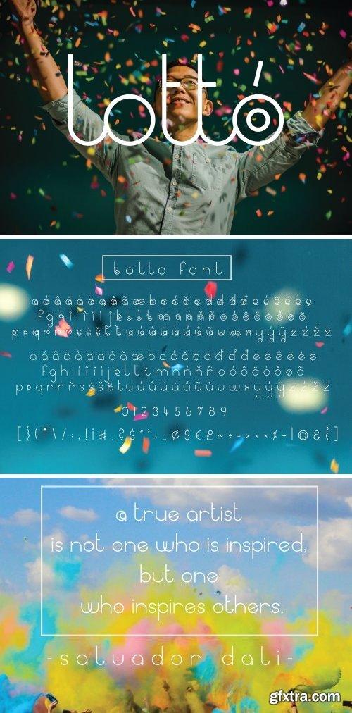 CM - Lotto Sans Serif Font 2127975
