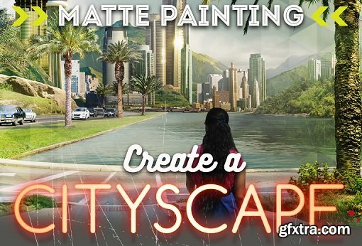 PencilKings -Matte Painting in Photoshop - How to Create a Cityscape