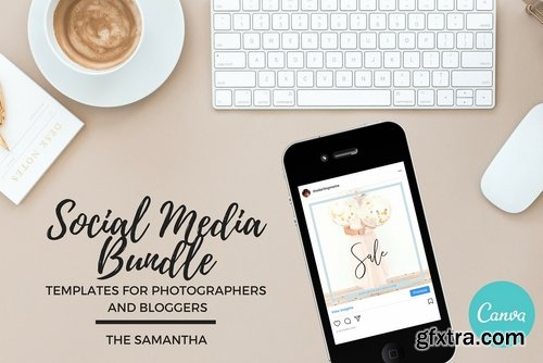 CM - Social Media Bundle Canva 2546580