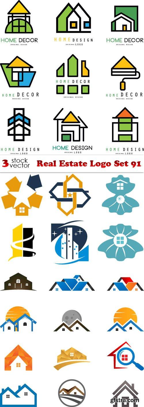 Vectors - Real Estate Logo Set 91