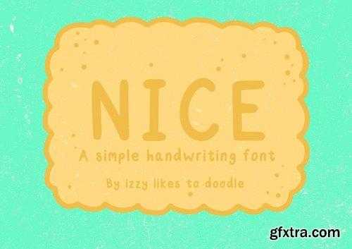 CM - Nice - A Simple Handwriting Font 2498509