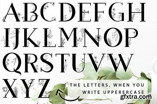 CM - Blossom Font + EXTRAS 2538796