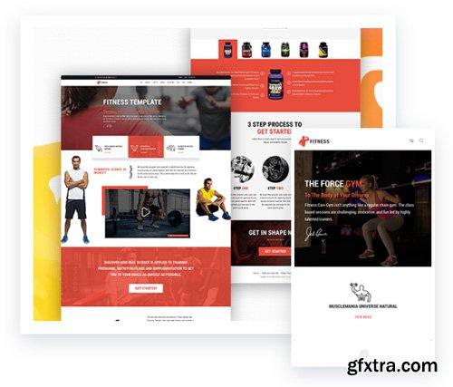 ThemeXpert - Fitness v1.2.1 - Instructor, Coach, Gym Website Joomla Template