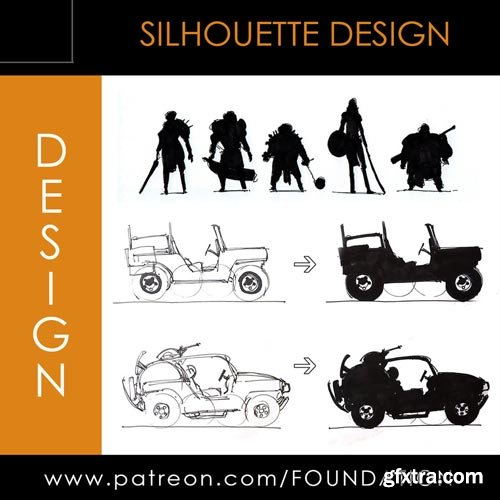Gumroad - Foundation Patreon - Term 1 - Silhouette Design