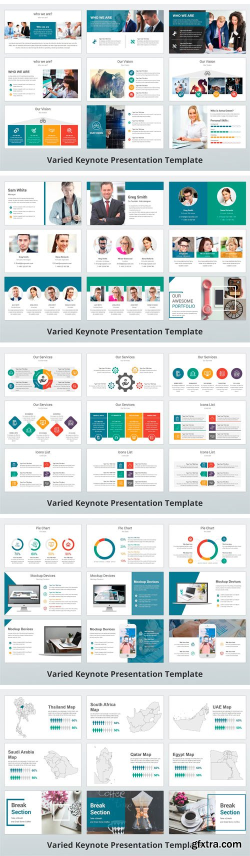 CM - Varied Keynote Template 2392967