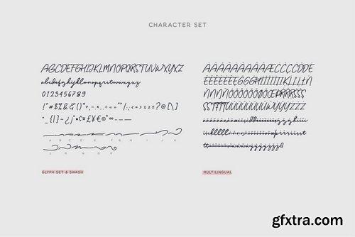 Balig Script Font Family