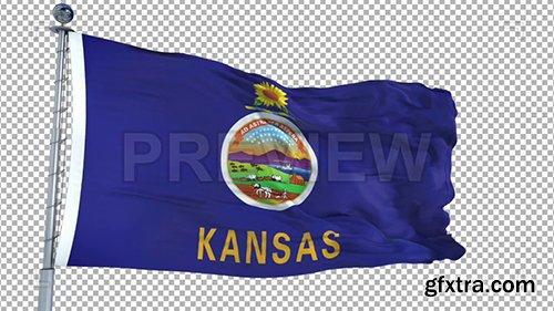 Kansas Flag Animation 73926