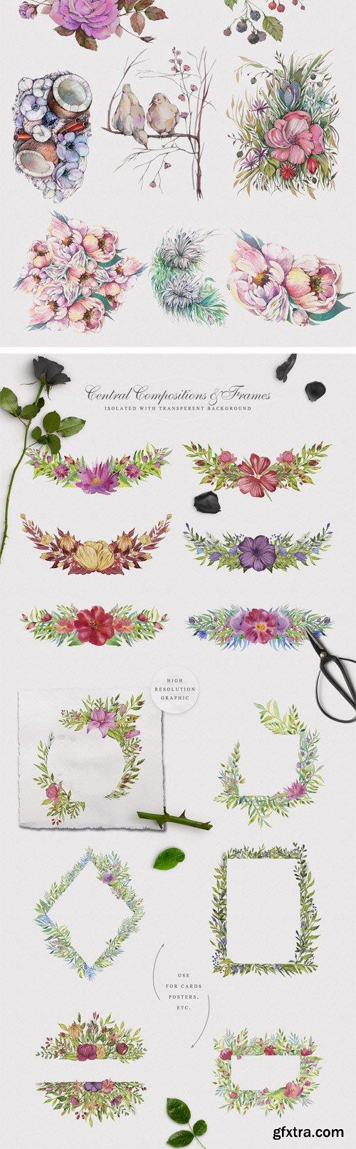 CM - Spring Garden Watercolor Collection 2393107