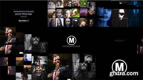 MotionElements Puzle Photo Logo 10843458